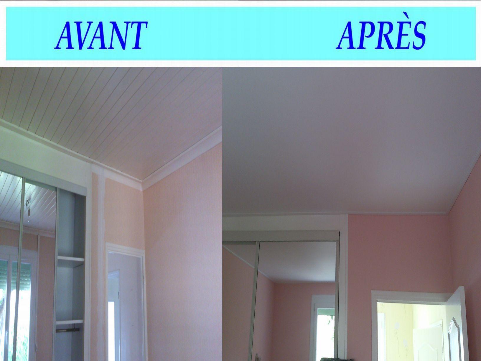 plafond-tendu-avant-apres